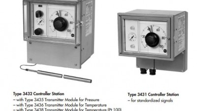 Pneumatic Indicating Controller